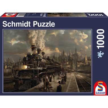 Puzzel Locomotief - 1000 stukjes