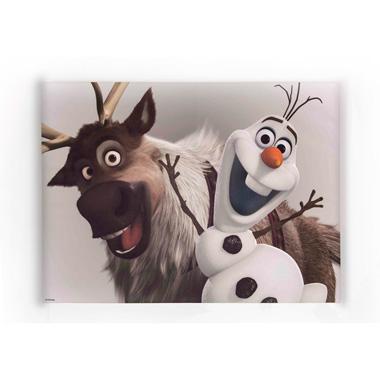 Disney Frozen canvas Olaf en Sven - 50 x 70 cm