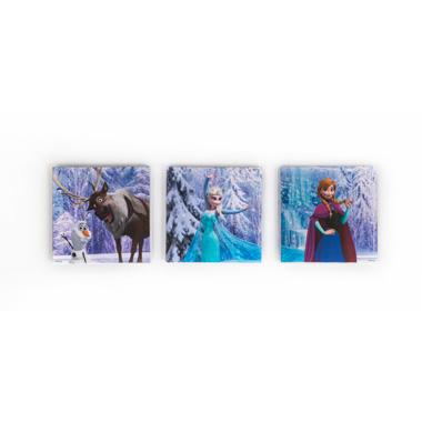 Disney Frozen canvasset 3-delig - 30 x 30 cm