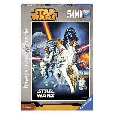 Ravensburger puzzel Star Wars Oorlog tussen de sterren 500 stukjes