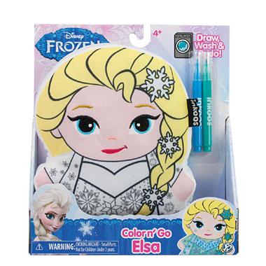 Disney Frozen Color n' Go Elsa pluche