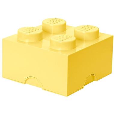 LEGO Design Collection Brick opbergbox 4 - geel