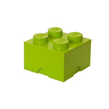 LEGO Brick opbergbox 4 - limegroen