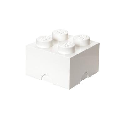LEGO Brick opbergbox 4 - wit