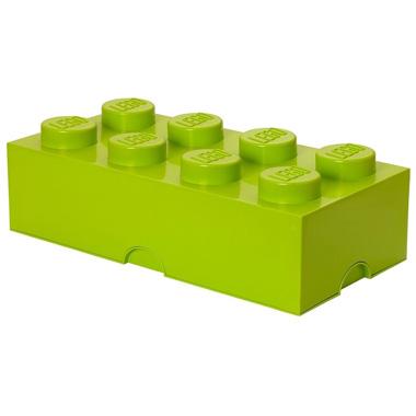 LEGO Brick opbergbox 8 - limegroen