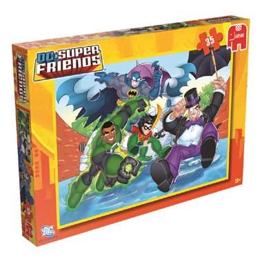 Jumbo puzzel Superfriends 35 stukjes
