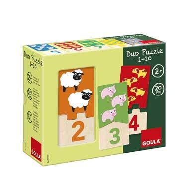 Jumbo Duo puzzel 1 - 10