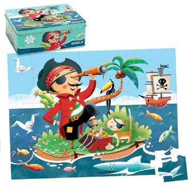 Jumbo puzzel Piraat 35 stukjes