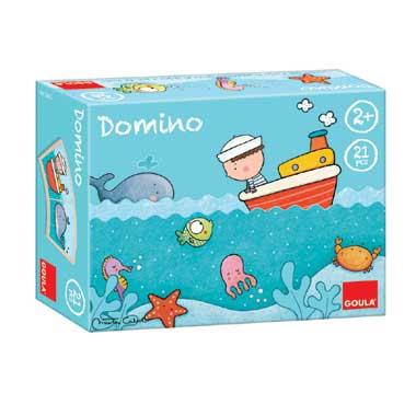 Jumbo Oscar aan zee domino
