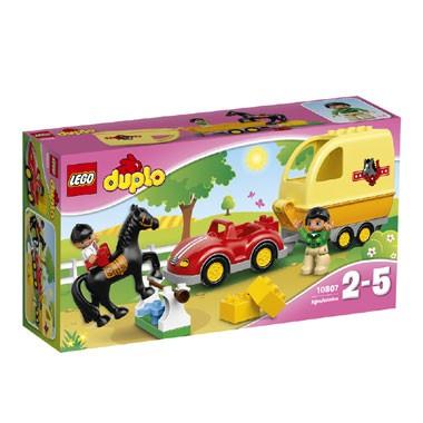 LEGO DUPLO paardentrailer 10807