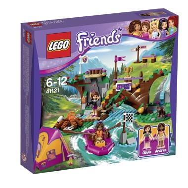 LEGO Friends avonturenkamp wildwatervaren 41121