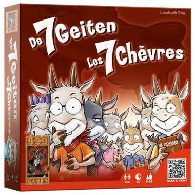 De 7 geitjes kaartspel