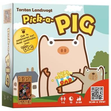 Pick-a-pig kaartspel