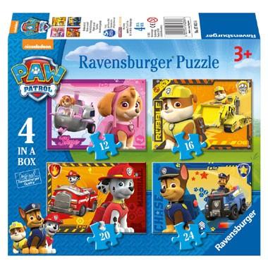 Ravensburger puzzels Paw Patrol Puppies op pad