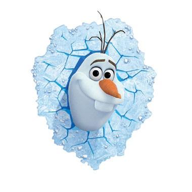 Disney Frozen 3D-muurlamp Olaf