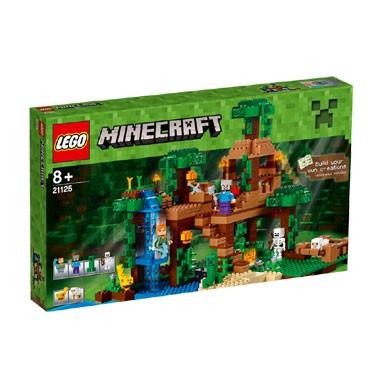 LEGO Minecraft de jungle boomhut 21125