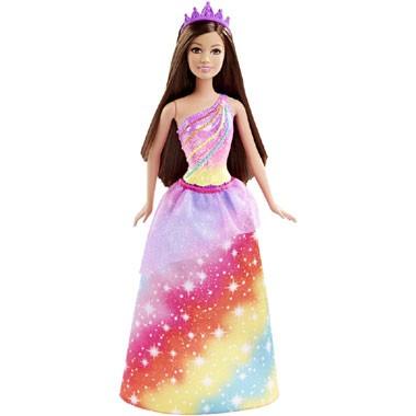 Barbie Fairytale Regenboog prinsespop