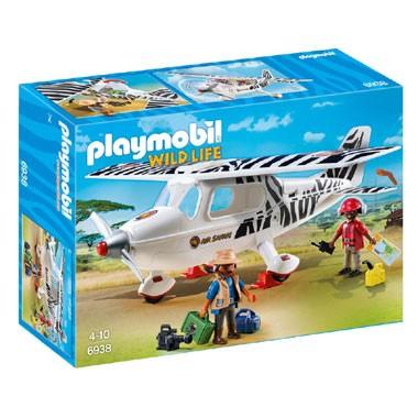 PLAYMOBIL Wildlife safari vliegtuig 6938