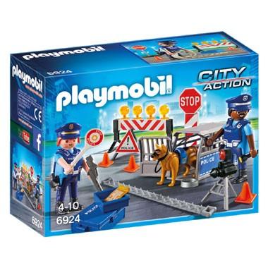 PLAYMOBIL City Action politiewegversperring 6924