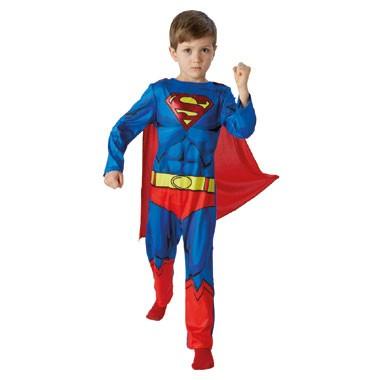 Superman DC Comics kostuum - maat 128/140