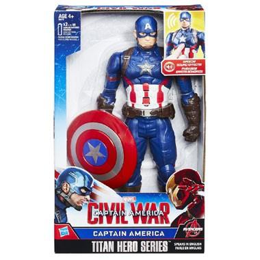 Captain America elektronisch figuur - 30 cm