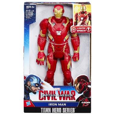 Iron Man elektronisch figuur - 30 cm