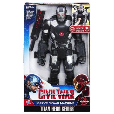 War Machine elektronisch figuur - 30 cm