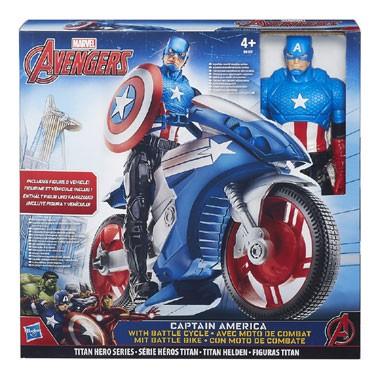 Titan Hero 30 cm figuur en voertuig