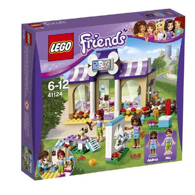 LEGO Friends Heartlake puppydagverblijf 41124