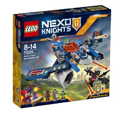 LEGO Nexo Knights Aaron Fox aerojager 70320
