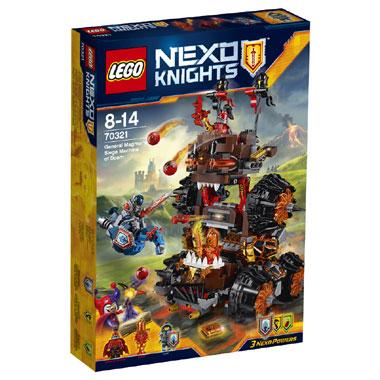 LEGO Nexo Knights Generaal Magmars beleg 70321