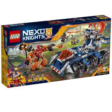 LEGO Nexo Knights Axls torentransport 70322