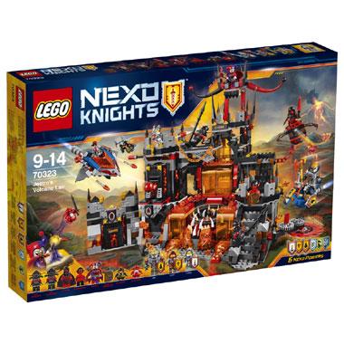 LEGO Nexo Knights Jestro's vulkaanbasis 70323