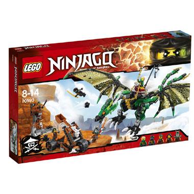 LEGO Ninjago de groene NRG draak 70593