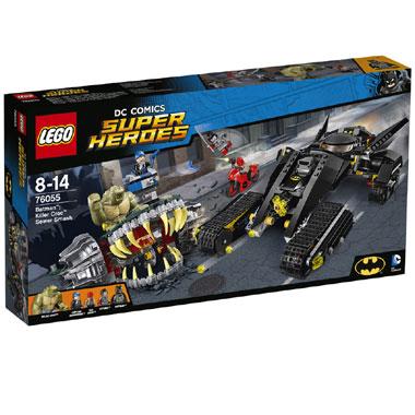 LEGO Super Heroes Batman: Killer Croc rioolravage 76055