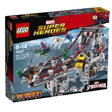 LEGO Super Heroes Spider-Man: Web Warriors ultiem brugduel 76057