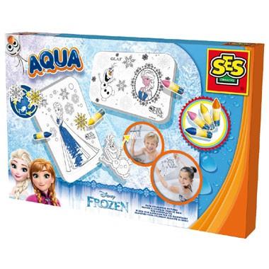 SES Aqua Frozen badkleurplaten