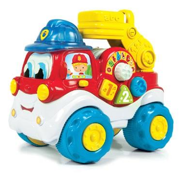 Clementoni brandweerwagen met geluid