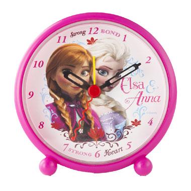 Disney Frozen wekker - roze