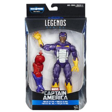 Marvel Legends Series Civil War Cottonmouth - 15 cm