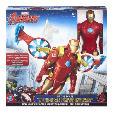 Avengers Iron Man met Hooverpack