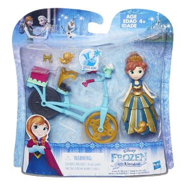 Disney Frozen Anna met fiets