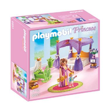 PLAYMOBIL Princess koninklijke slaapkamer met bed 6851