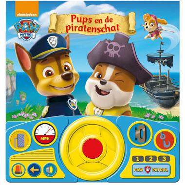 PAW Patrol piratenavontuur geluidenboek