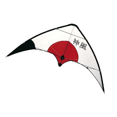 Rhombus Kamikaze carbon vlieger