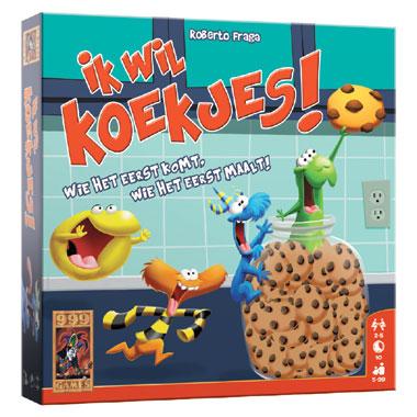 Ik wil koekjes! kaartspel