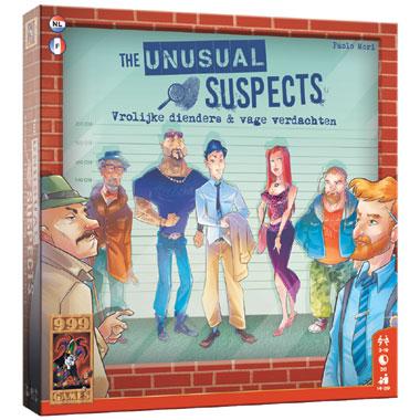 The Unusual Suspects bordspel