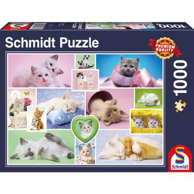 Cuddly cats puzzel - 1000 stukjes