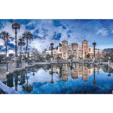 Mudejar-Pavilion Sevilla puzzel - 1500 stukjes