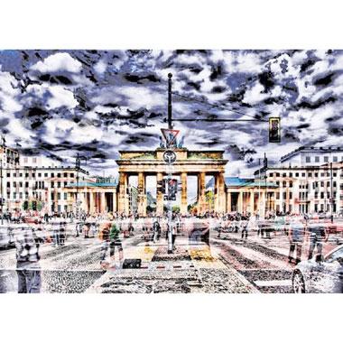Brandenburg Gate Berlin puzzel - 1000 stukjes